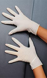 Latex Gloves (pack of 5)