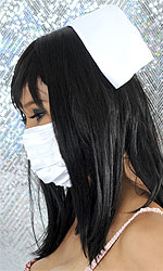Traditional Swan Nurse Hat