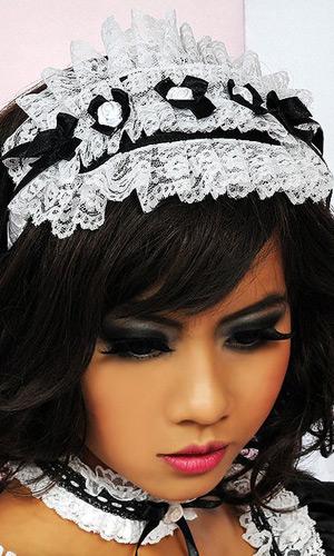 French Maid Lace Headband French Maid Lace Headband
