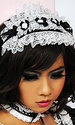 French Maid Lace headband