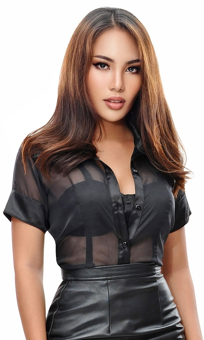 Carla Sheer Blouse
