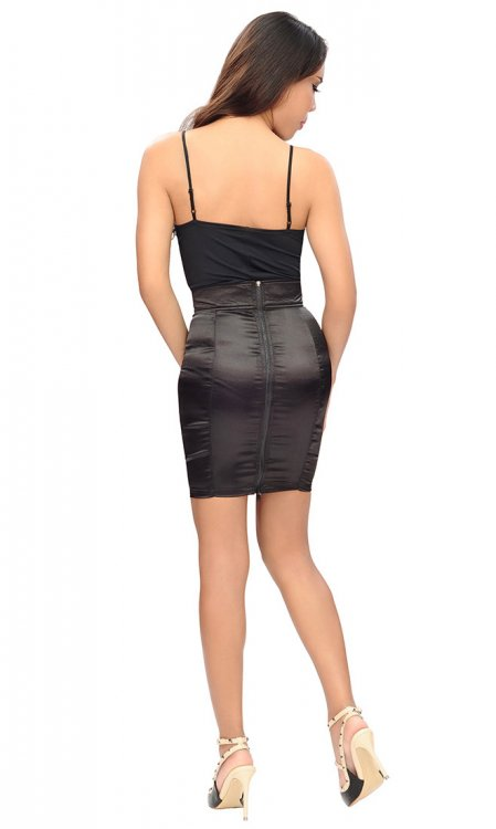 Isla Satin Skirt