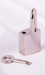 Small Lock (with key)