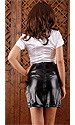 Sadie Leatherette Skirt