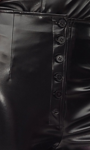 Vivi Leather Trousers (buttons)