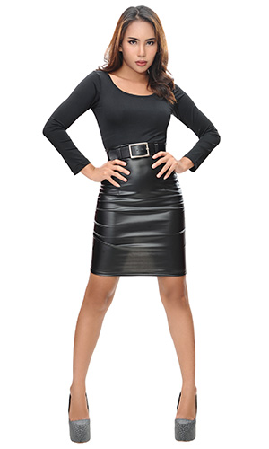 Adelise Buckle Skirt