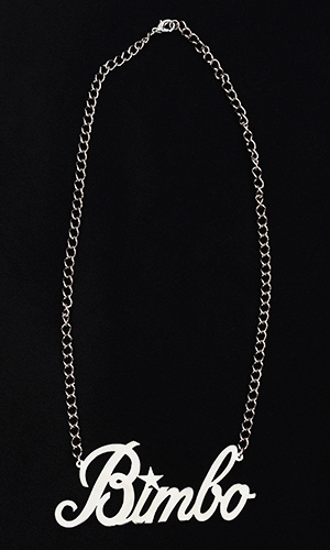 Bimbo Necklace (LARGE size)