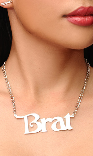 Brat Necklace (LARGE size)