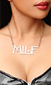 MILF Necklace (LARGE size)
