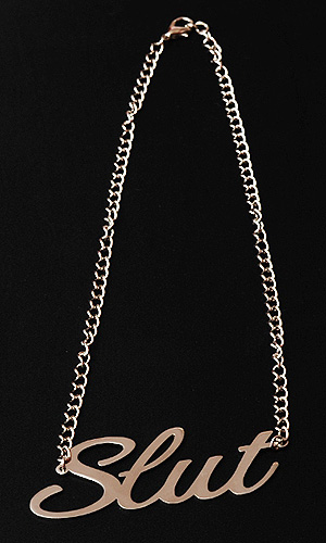 Slut Necklace (LARGE size)