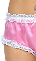 Celia Lace-trimmed Satin Panties