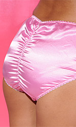 Satin Pinch Panties (full cut)