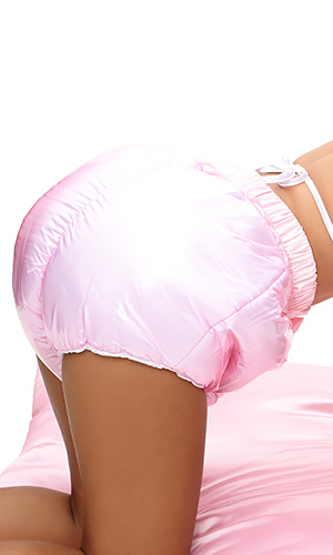 Plastic Kisses Sissy Foam Panties