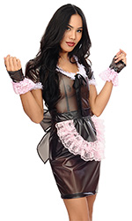 Luisa Plastic Maids Dress