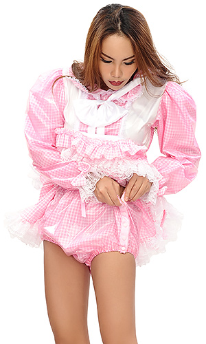 Sweet Gingham Prissy Maid