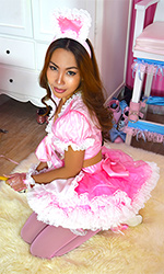 Sherri Plastic French Maid