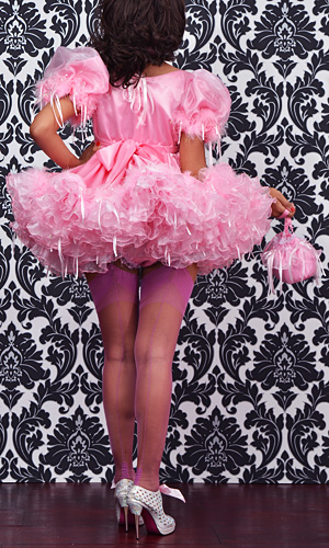 Barbi Satin Sissy Dress Prs066 163 288 44 The Fantasy