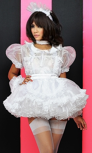 Queenie Prissy Sissy Dress