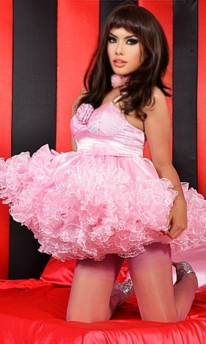 Sweet Rose Sissy Dress