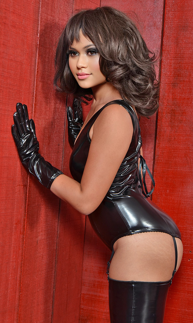 PVC Sleeveless Body Stunner