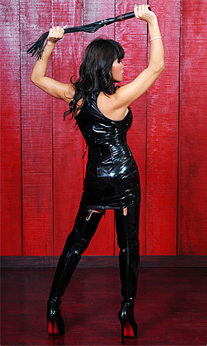 Haylee PVC Mistress Dress