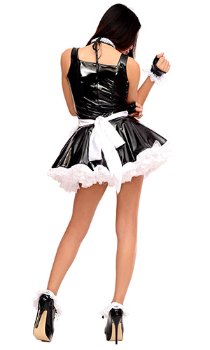 Mica PVC French Maid