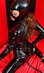 PVC Luxury Catsuit with Tail