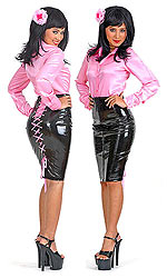 PVC Rear-Tie Skirt