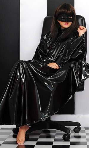 Salon Cape (PVC or Satin)
