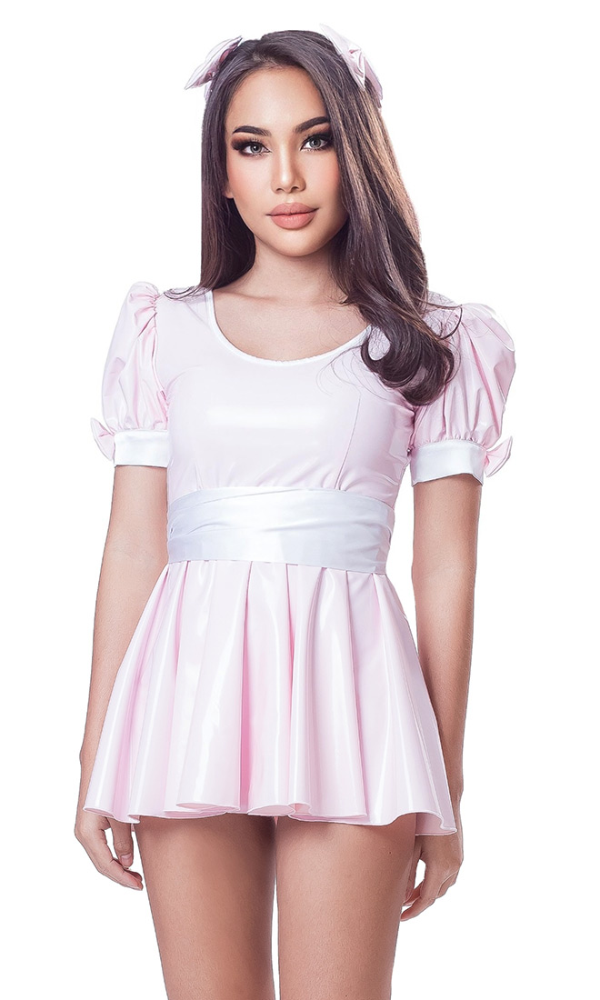Kimi PVC Mini Dress