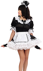 Adorlee Satin French Maid