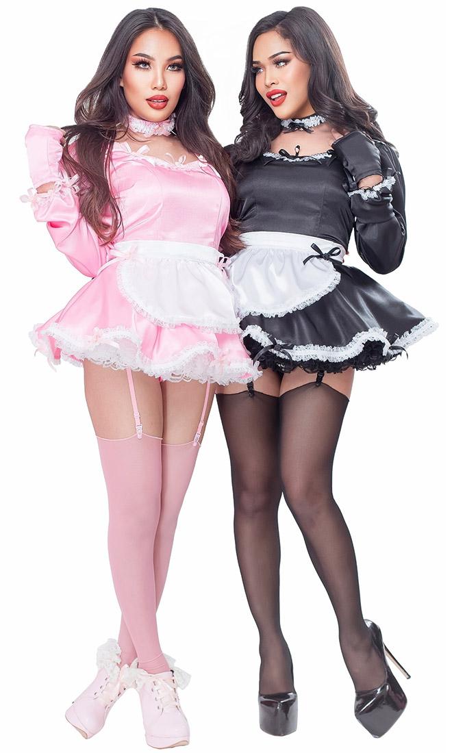 Agustina Satin French Maid Sat018 163 95 07 The Fantasy