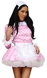Felicity Satin French Maid