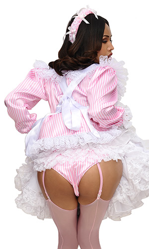Prettie Satin French Maid