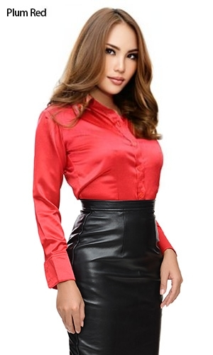 Satin Tease Blouse