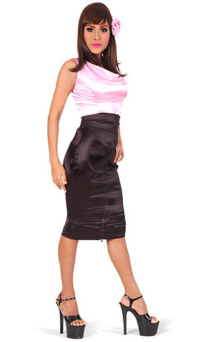 Lucinda High-Waist Skirt