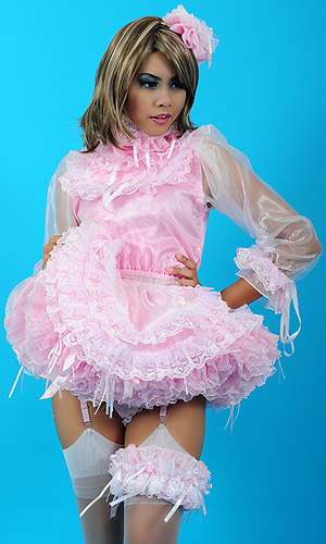 Gillian Sissy French Maid Uniform