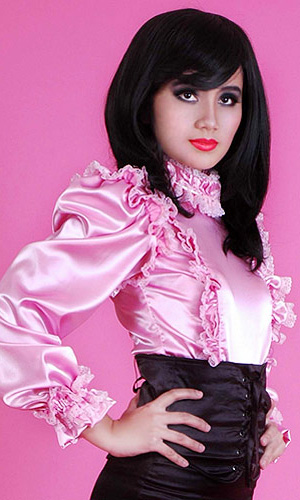 Satin Matron Blouse