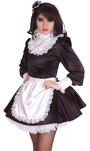 Satin Ruffle Maid