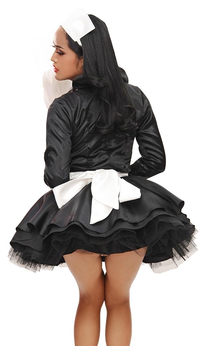 Satin Elegant French Maid