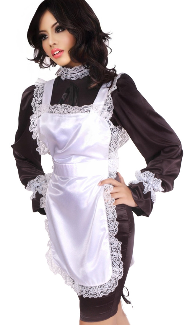 Satin Hobble Maid