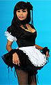 Tamara Satin French maids uniform