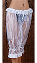Darlah Long glass-silk Bloomers