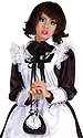 Miss Milly Satin French Maid