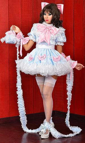 Beebee Satin Sissy Dress Sat171 163 207 23 The Fantasy