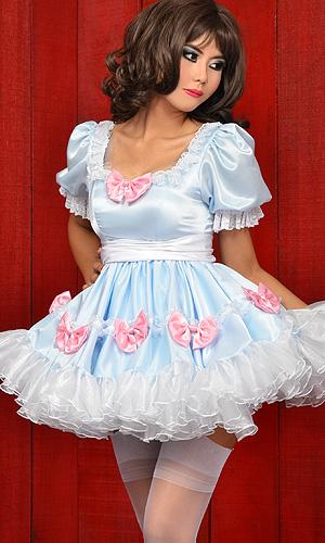 Beebee Satin Sissy Dress Sat171 163 209 76 The Fantasy