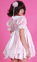 Satin Pretty Sissy Baby Dress