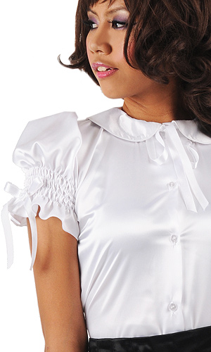 Satin Miranda Blouse
