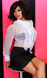 Frilly Governess Blouse
