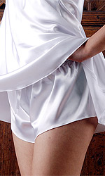 Diana Satin French Knickers